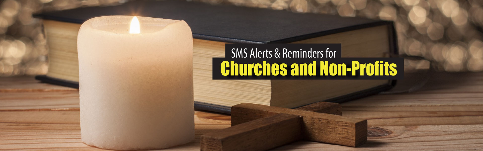 SMS alerts for churches